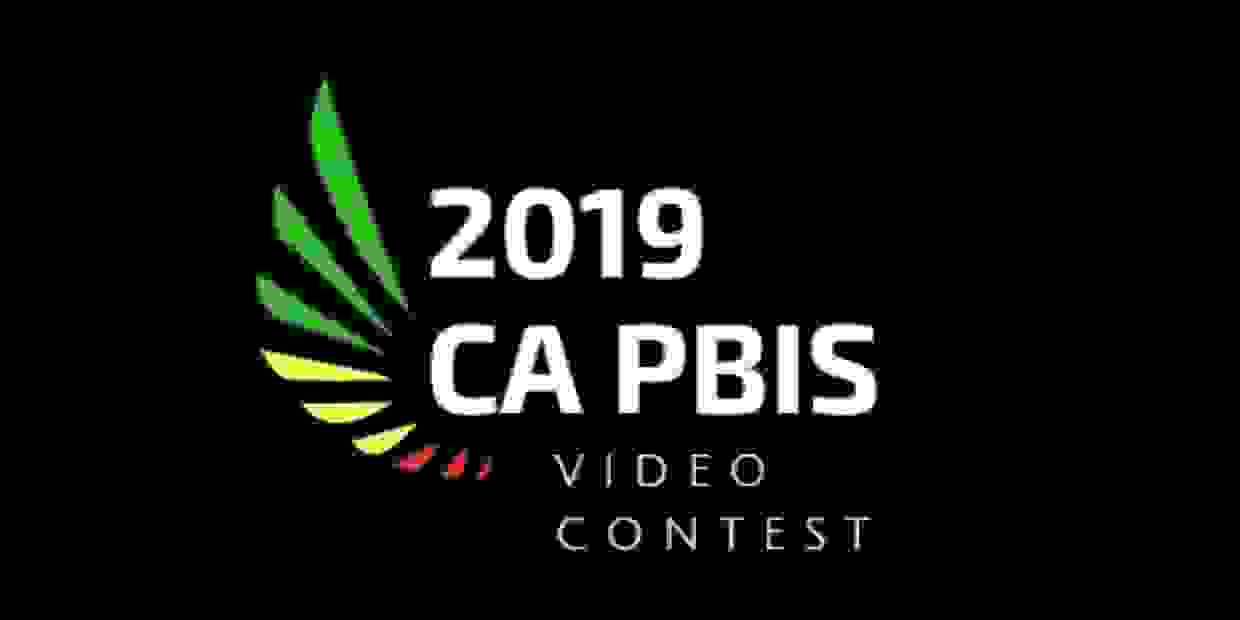 2019 CA PBIS video contest logo