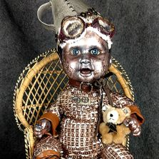 Steampunk Tin boy Doll Reborn