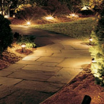 outdoor lighting, low voltage lighting, lighting repair