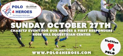 For more info and ticket information visit click the image above or visit www.Polo4Heroes.com
