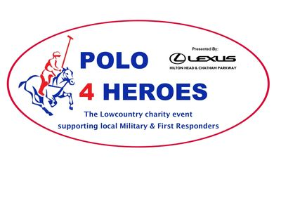 For more info and ticket information visit click the logo above or visit www.Polo4Heroes.com
