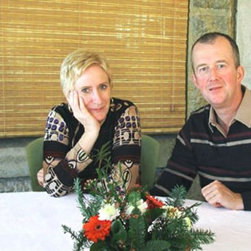 Anne and husband/business partner Ray