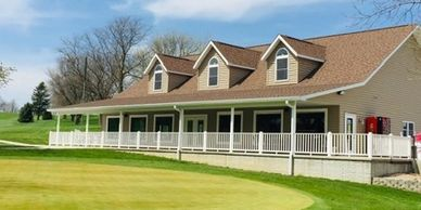 Audubon Golf and Country Club Beautiful nine-hole course with a modern clubhouse available for rent.