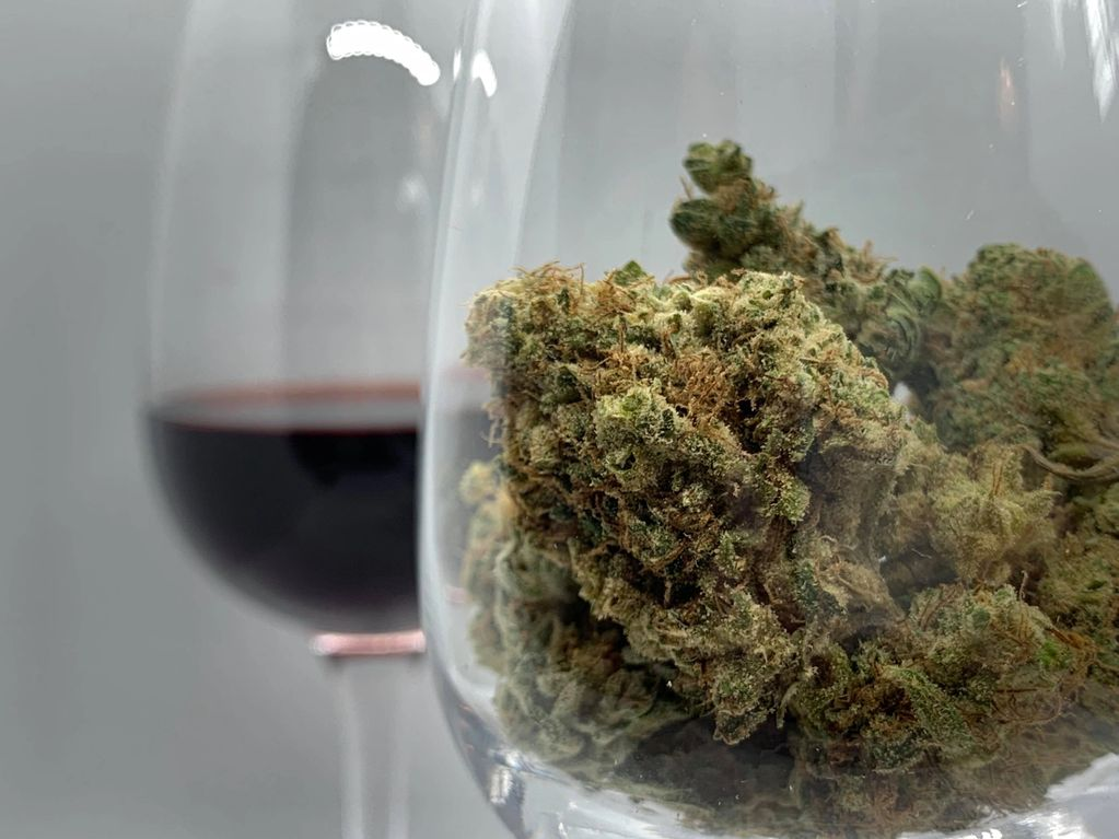 cannabis and wine, weed sommelier, wien and weed, cannabis and food, cannabis sommelier, andrew f