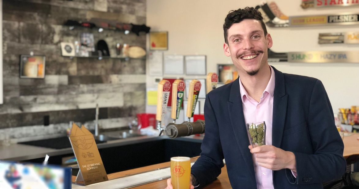 andrew freedman, the cannabis sommelier, cannabis sommelier, weed and beer, cannabis