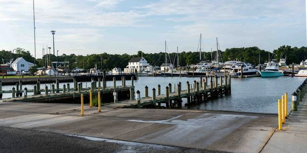 Cape Charles Harbor - Eastern Shore Boat Tours, LLC - Private Barrier Island Tour and Sunset Cruise