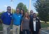 TRG Agents Jim Branson and Larry Henry, TRG President Anita Hawkins, UHC Piedmont Agent Manager Amy Bruner, TRG Agents Monty Stevens and Arlisa Reaves