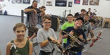 JOAD junior olympic archery development kids archery lessons skills arrows bows