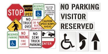 ADA handicap signs