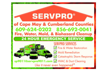 SERVPRO of Cape May County & Cumberland County