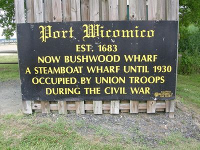 Bushwood Wharf Formerly Port Wicomico