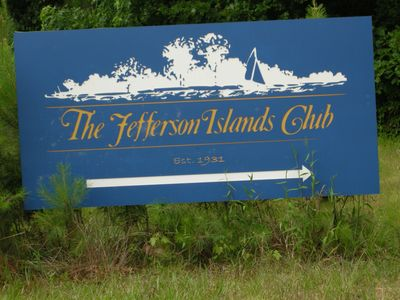 The Jefferson Island Club on St. Elizabeth's Island