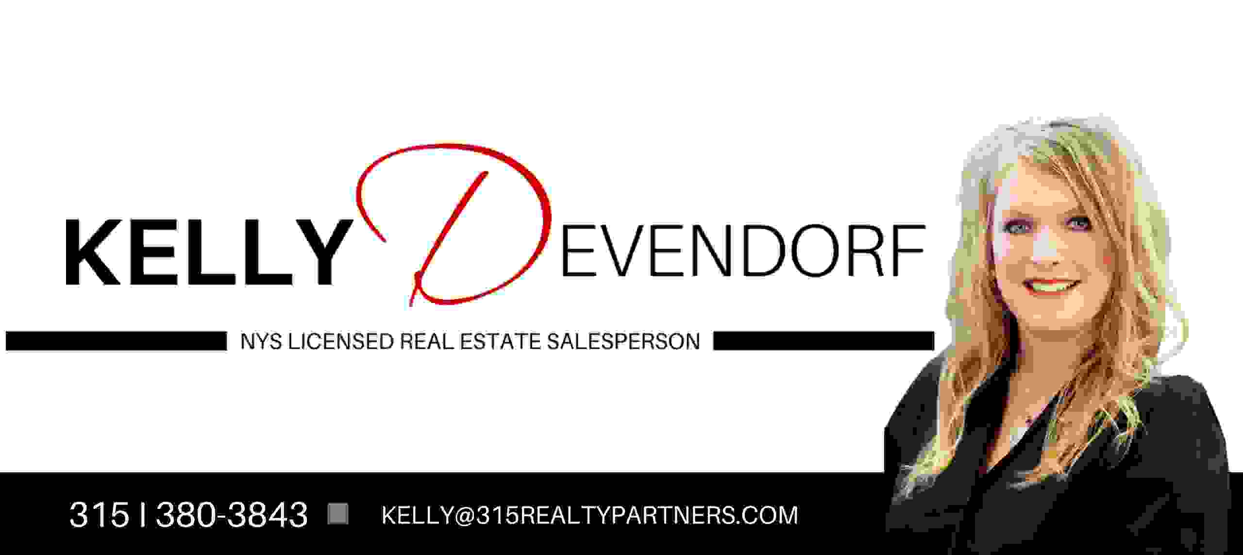 Kelly Devendorf - CNY Licensed Real Estate Agent | 315 Realty Partners
