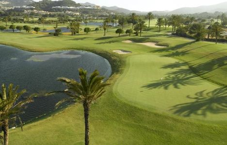 11th hole on the South Course at La Manga Club.