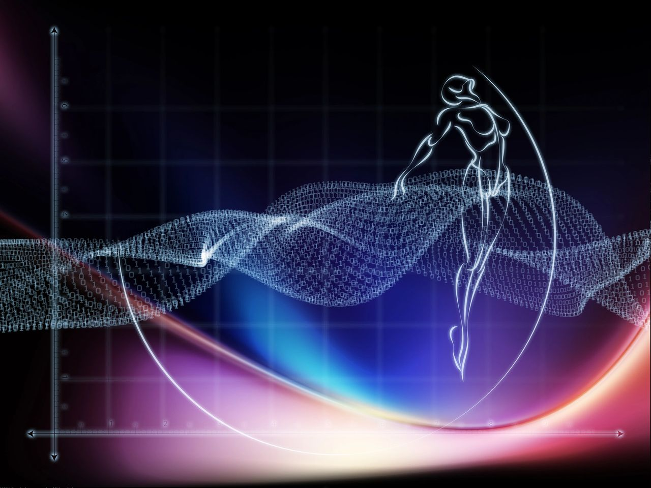 Vibrational Frequencies of Human body