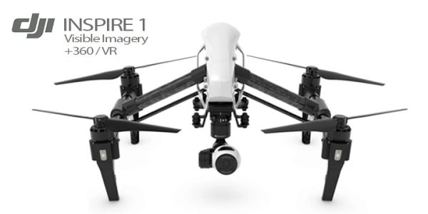 DJI Inspire 1  Visible Imagery + 360 & VR