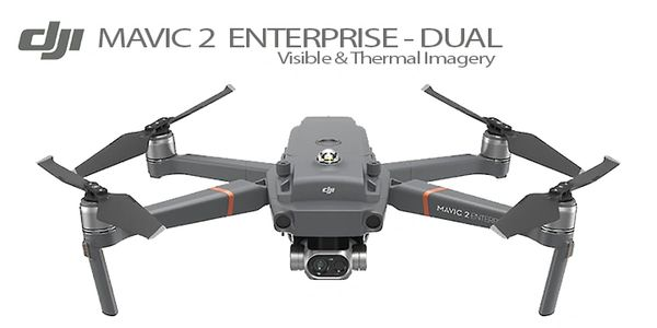SPECIFICATIONS DJI Mavic 2 Enterprise - Dual Visible & Thermal Imagery
