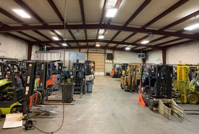 We have an on-site service team & fully equipped repair shop for the big jobs.