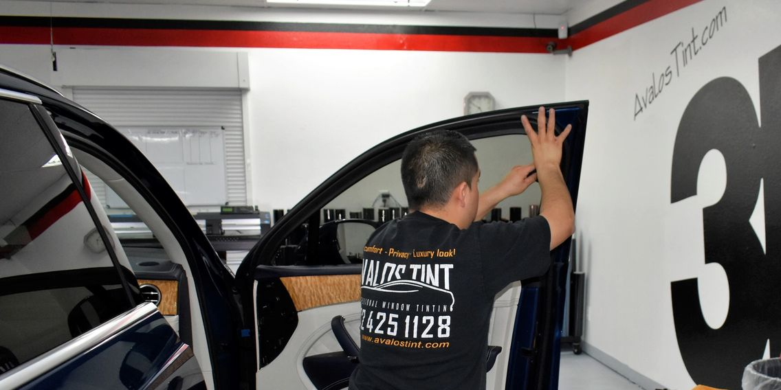 PROFESSIONAL WINDOW TINT INSTALLATION HERE AT AVALOS WINDOW TINTING