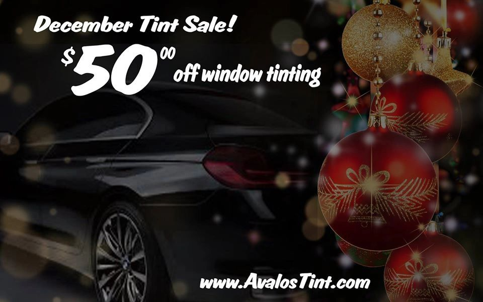 December auto tint special promotion in Las Vegas Nevada