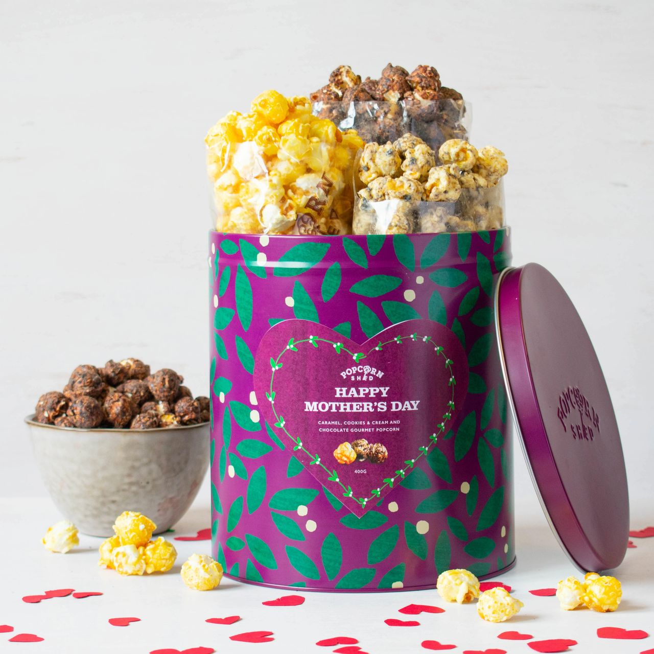 Popcorn Shed Mother's Day Tin