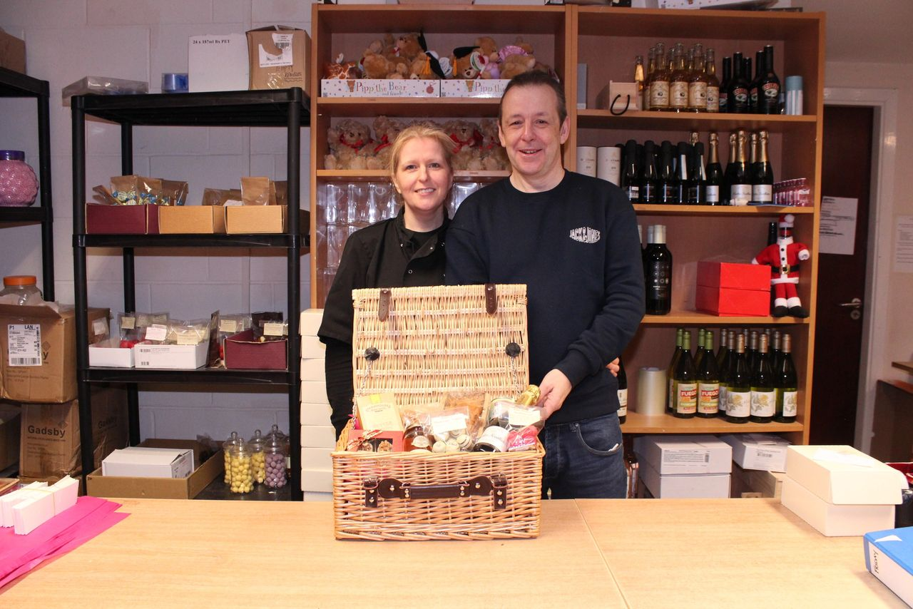James and Claire McGoldrick of Bradfords Bakers