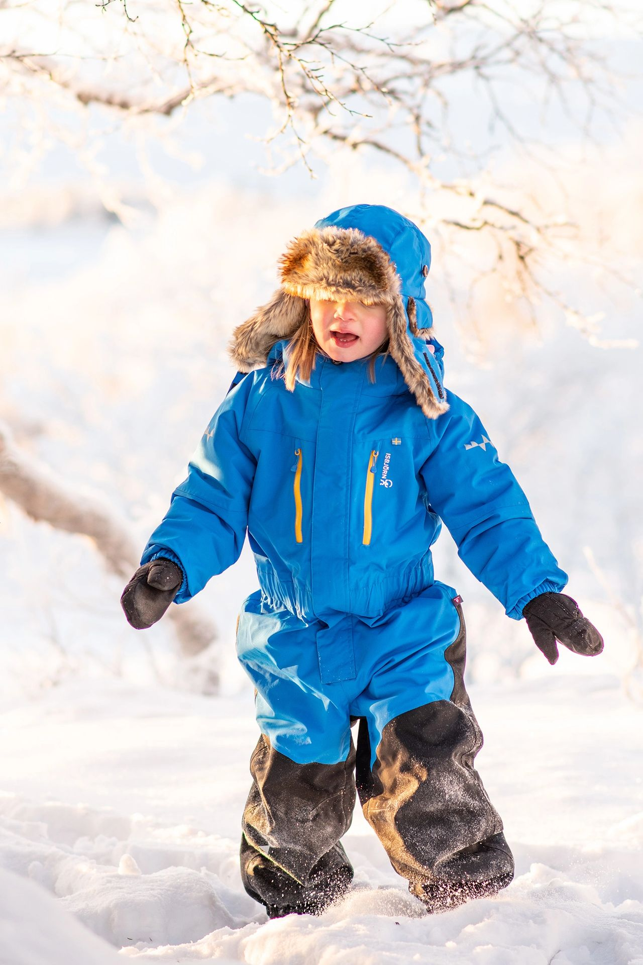 premium yet truly sustainable outdoor childrenswear company Isbjörn of Sweden