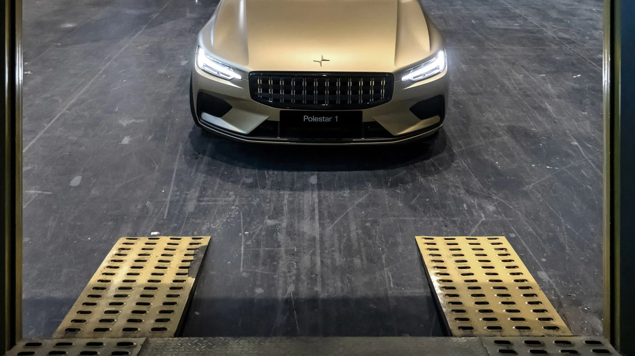 Polestar 1 is the first car that can be bought with art
