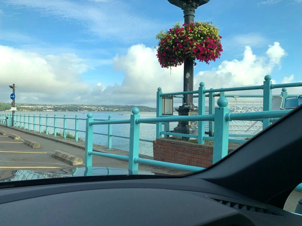 SEAT Tarraco excellent visibility  - view from the Mumbles across Swansea Bay