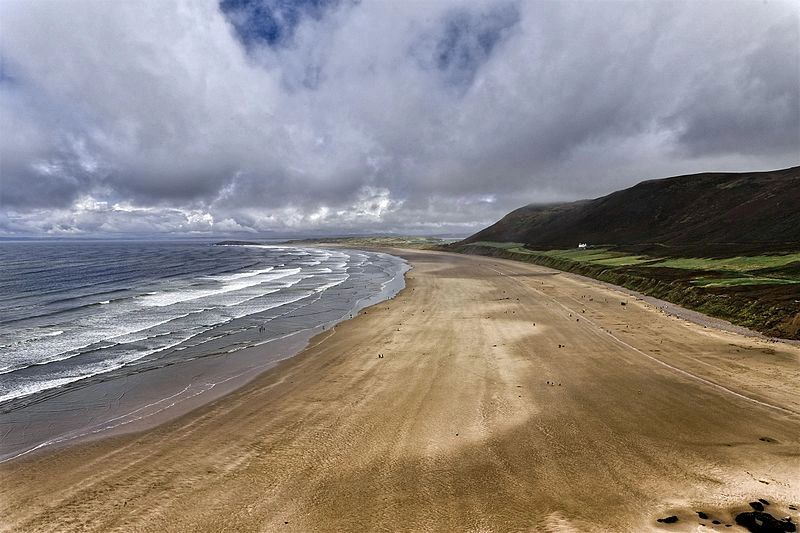 SEAT Tarraco road trip to Gower - world-famous Rhossili Bay