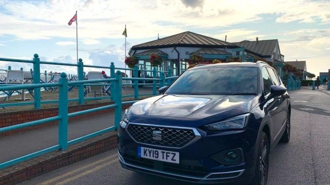 SEAT Tarraco Gower road trip -  by famous Mumbles Pier