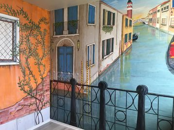8'x 16 free Mural of Venice, Italy by Dalia Garcia, Garcia and Scott