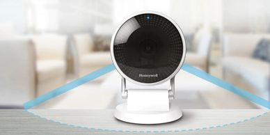 Honeywell C2 home security camera has 145° wide angle view