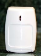 Security system motion detector