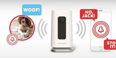Honeywell C1 home security camera has two-way audio