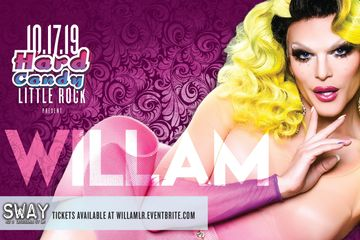 RuPaul's Drag Race star Willam performs Saturday, Oct. 17 at Club Sway in downtown Little Rock
