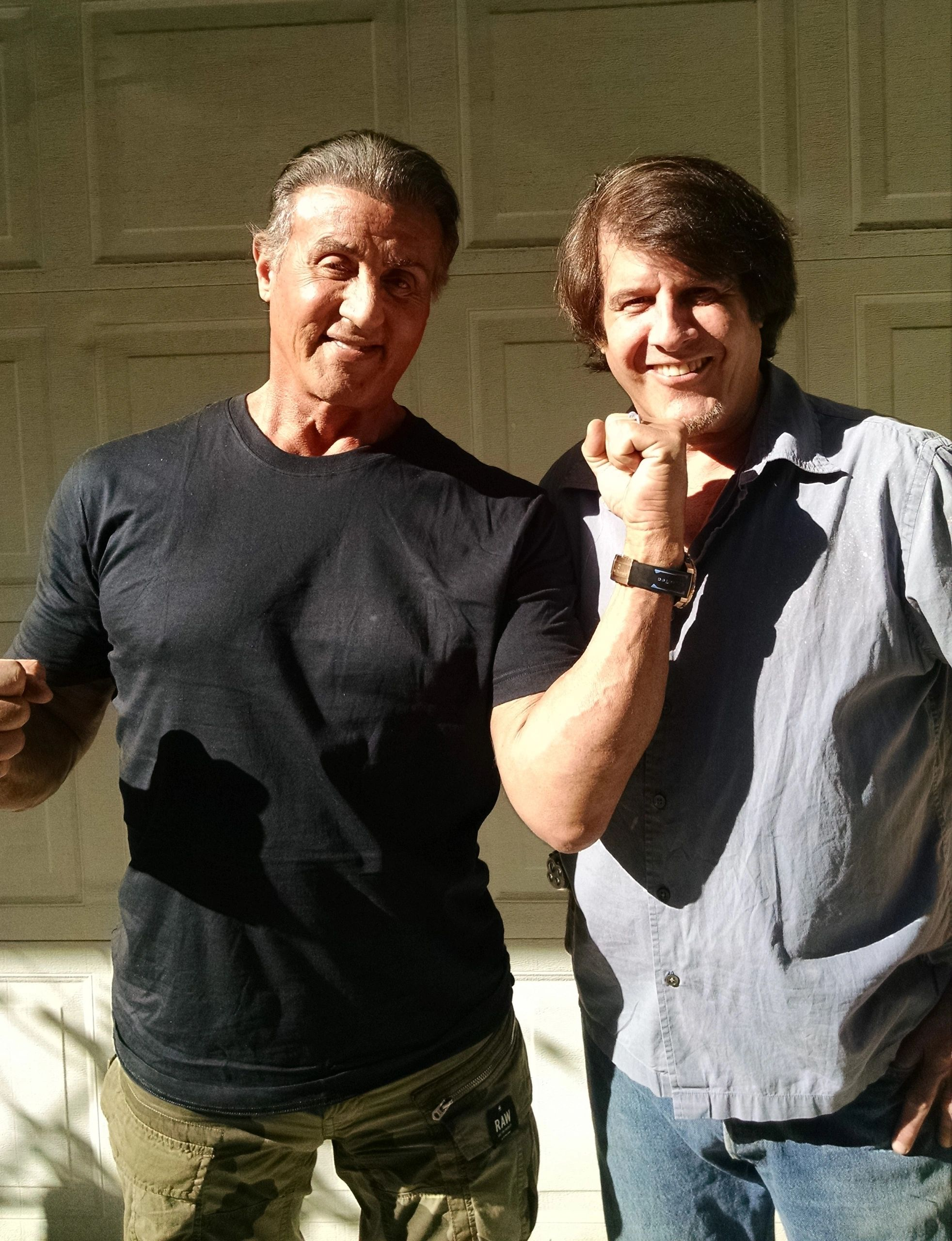 Sylvester Stallone visited me & my memorabilia before he went to DC to get the Pardon for Jack 2018