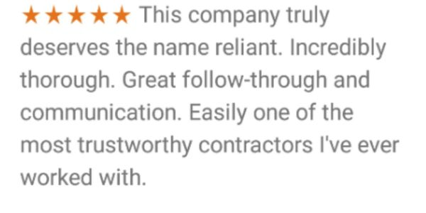 Customer 5 star Review