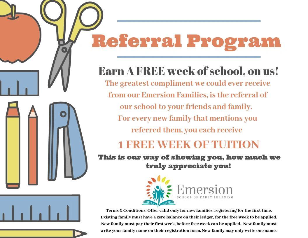 Emersion's Referral Program