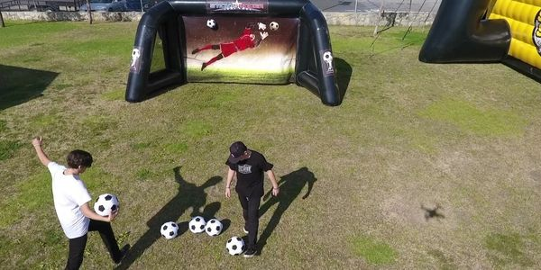 Soccer game for rent sticky soccer game rent Danville VA Raleigh NC Durham NC