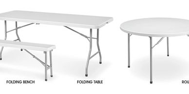Table rental Virginia, round table for rental, party rental equipment
