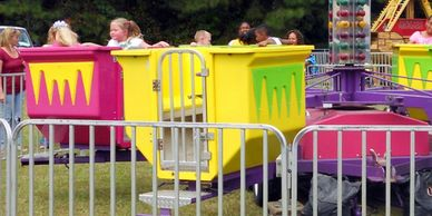 Turbo Tubs of Fun | Carnival rides for rent in North Carolina | Virginia | Rent carnival rides near
