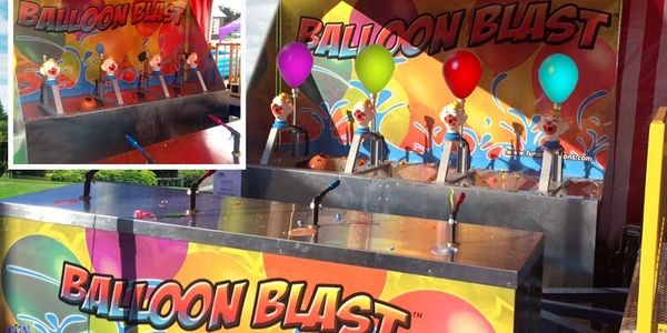Water balloon blast for rent Virginia, water balloon race, carnival water balloon blast North Caroli