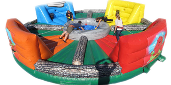 Hippo chow down inflatable game for rent in Virginia(VA), NC North Carolina, inflatable games for re