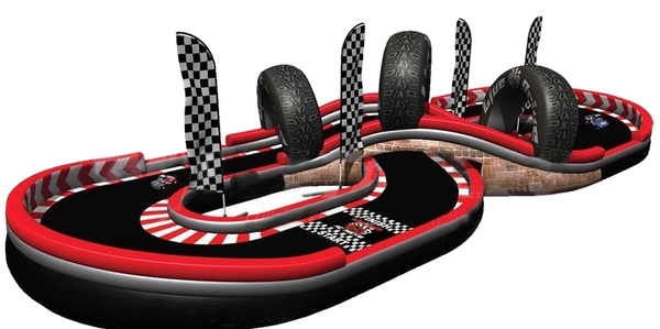 Live Drive Rc Racing inflatable Virginia - North Carolina for rent. Company picnic event, team build