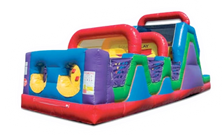 wacky jr obstacle course virginia, obstacle course for rental north carolina, inflatables rent eden