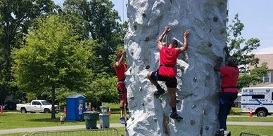 rock climbing wall | climbing wall | mobile rock wall | rock wall rental Virginia | rock climbing fu