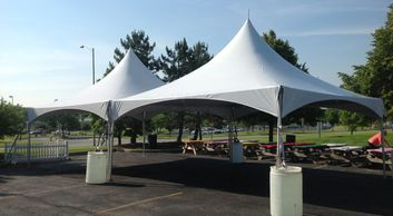 20 X 40 TENT RENTAL VA, HI PEAK TENT RENTALS NC, WHITE TENT FOR RENT, WEDDING TENT FOR RENT VA, NC