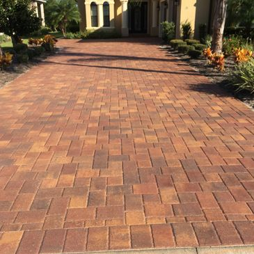 This is a Paver Sealing Job Recently done in the Hammock Dunes for one of our customers!