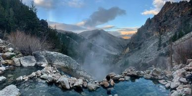 Hike and then relax at the famous Goldbug Hot springs just a very short distance away!